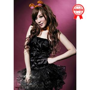 Sexy Cat Costume, sexy Kitty Costume, Cuddly Cat Costume, #M1004