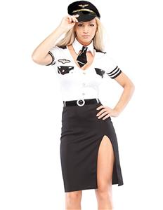 Strip Search Officer Costume, Strip Search Officer Halloween Costume, Search Officer Costume, #M1351