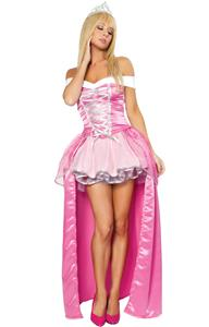 Deluxe Beauty Costume, Pink Beauty Costume, Pink Princess Costume, Womens Sleeping Beauty Costume, #N1575
