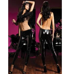 Shiny Stretch Lame Tights, Faux Leather Pants, Shiney Stretch Pants, #HG0007