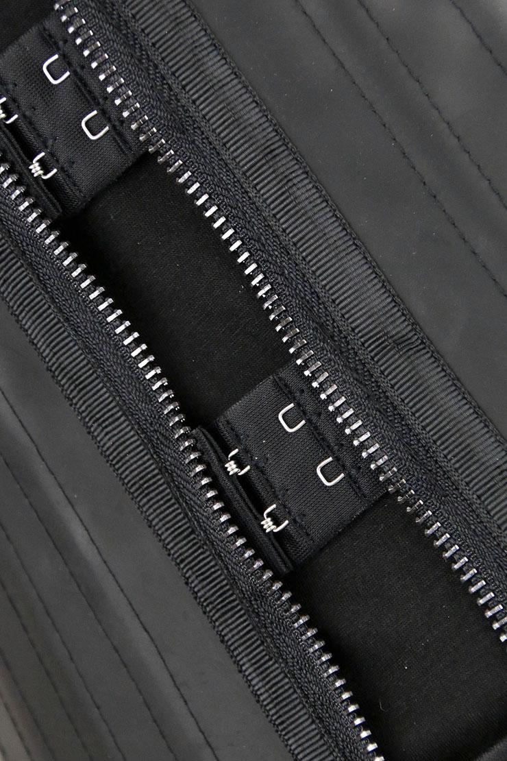 Latex Underbust Corset for Women, Steel Boned Black Underbust Corset, Latex Waist Training Cincher Corset, Plus SIze Underbust Corset, #N11319