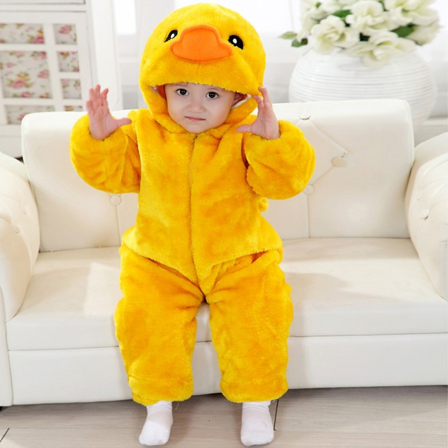 Yellow Duck Romper Jumpsuit Baby Halloween Duck Costume Baby Baby Big Yellow Duck Climbing  sc 1 st  MallTop1.com : chocobo baby costume  - Germanpascual.Com