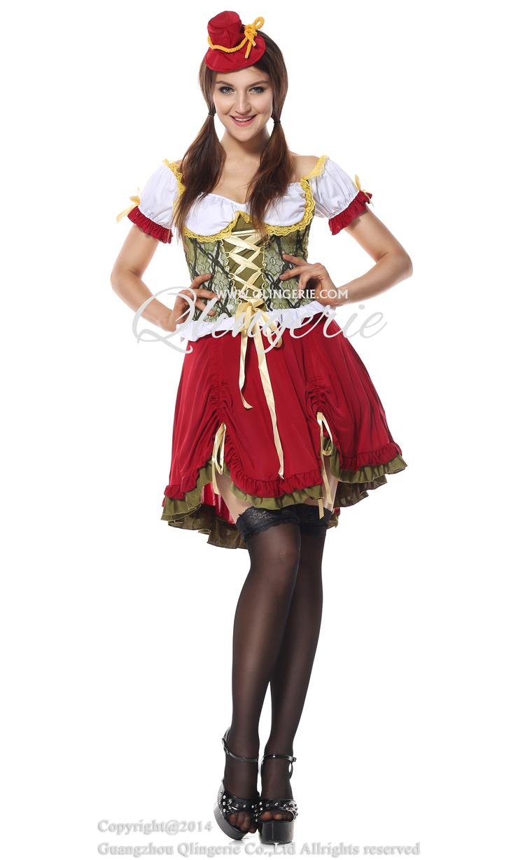 Adult Beer Garden Girl Costume, Adult Beer Costume, Beer Woman Costume, #N5577