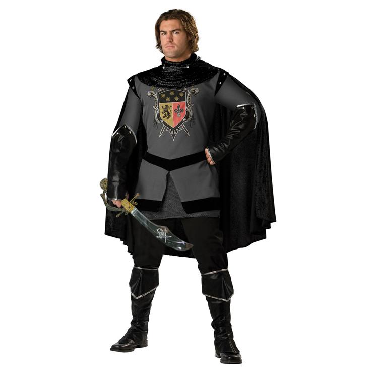 Adult Dark Medieval Knight Costume N4874