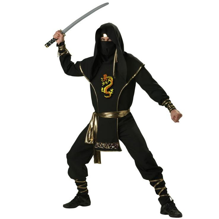 Adult Ninja Warrior Costume Premier N6805