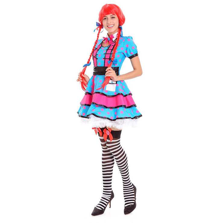 Deluxe Fantasy Alice Costume, Deluxe Alice Costume, Womens Sexy Alice Costumes, Rebel Alice Fancy Costume, #N14624