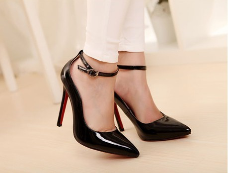 Ankle Strap Stiletto High Heels SWS12112