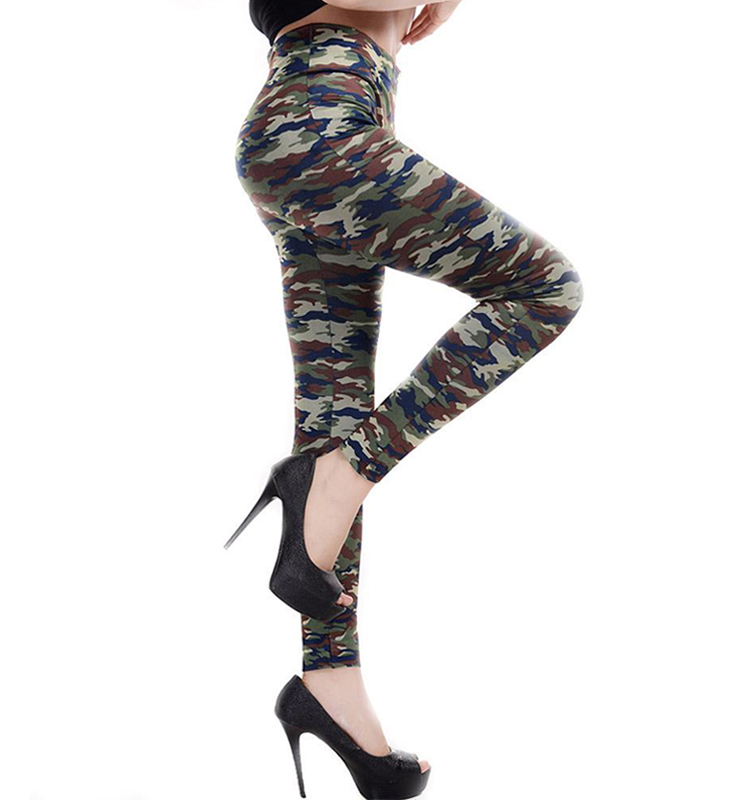 Army Camouflage Leggings L7476
