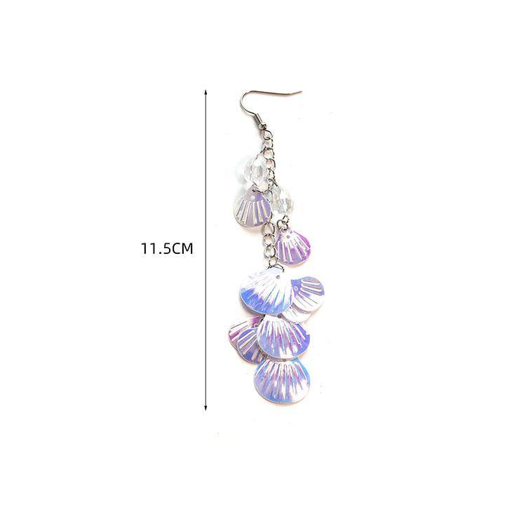 Sexy Jewelry, Mermaid Accessories, Retro Mermaid Earrings, Summer Seashell Dangler, Fashion Earrings for Women, Vintage Eardrops, Casual Earrings, Victorian Gothic Earrings, Fashion Summer Earrings, #J21461