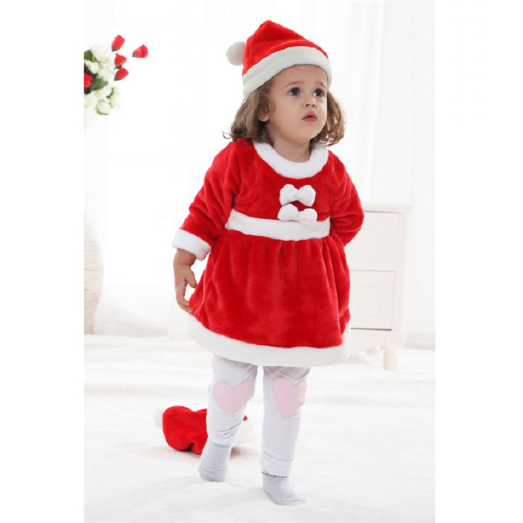 Baby Christmas Costume for Girls, Baby  Christmas Costume, Girls Christmas Costume, #N6256