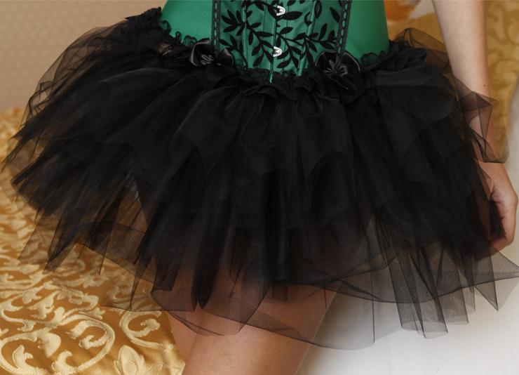 Ballerina Style Mesh Skirt HG3259