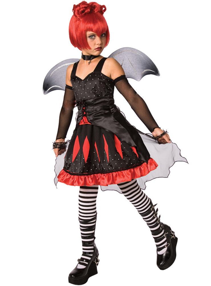 Batty Princess Child Halloween Costume, Batty Princess Costume, Batty Princess Child Costume, #N5995
