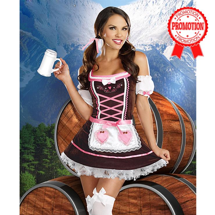 Beer Girl Carrie Me Home Costume N6352