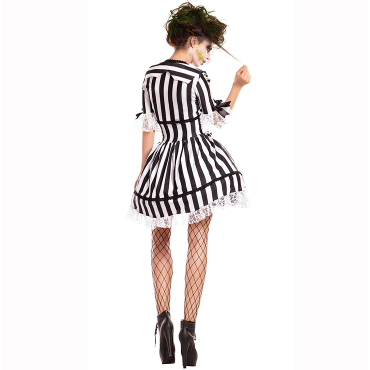 Hot Sale Halloween Costume, Crazy Scary Costume, Women