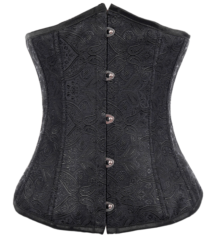 Bewitched Jacquard Underbust Corset N8100