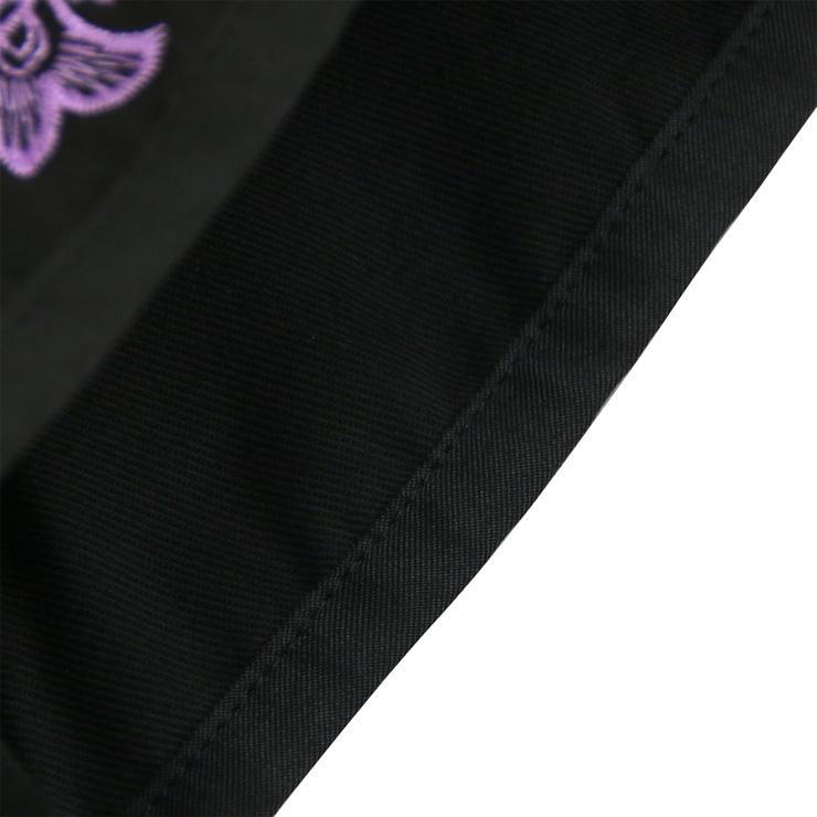 Vintage Black Underbust Corset, Steel Bone Waist Training Corset, Steel Boned Cotton Underbust Corset, #N12595