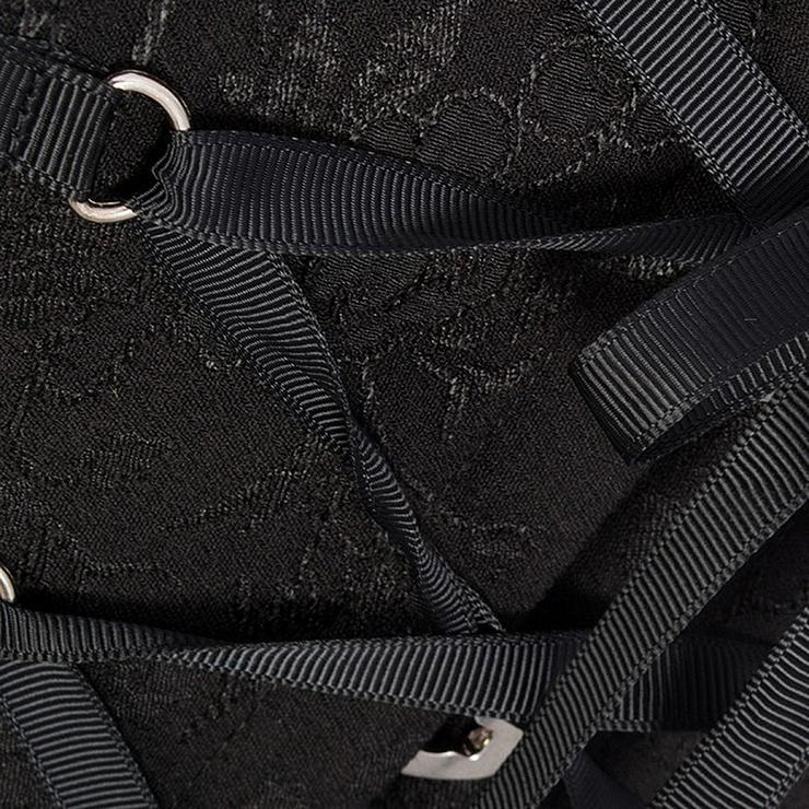 Lace Up Vest Corset, Sexy Corset Vest for Women, Black Corset for Women, Women