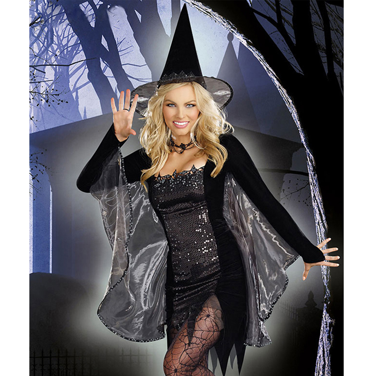 Black Magic Witch Costume W5840