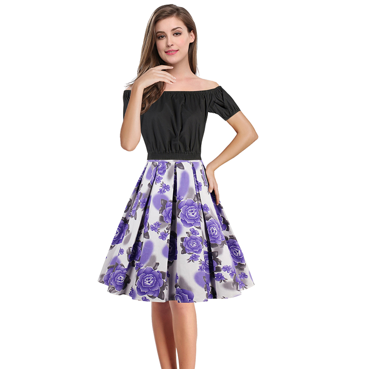 Waist High skirt and top set