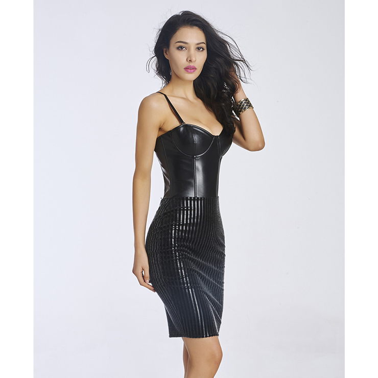 Black Mini Dress for Women, Sexy Bodycon Dress for Cheap, Cocktail Party Dresses, Short Club Wear Dress, Casual Dress, #N11376