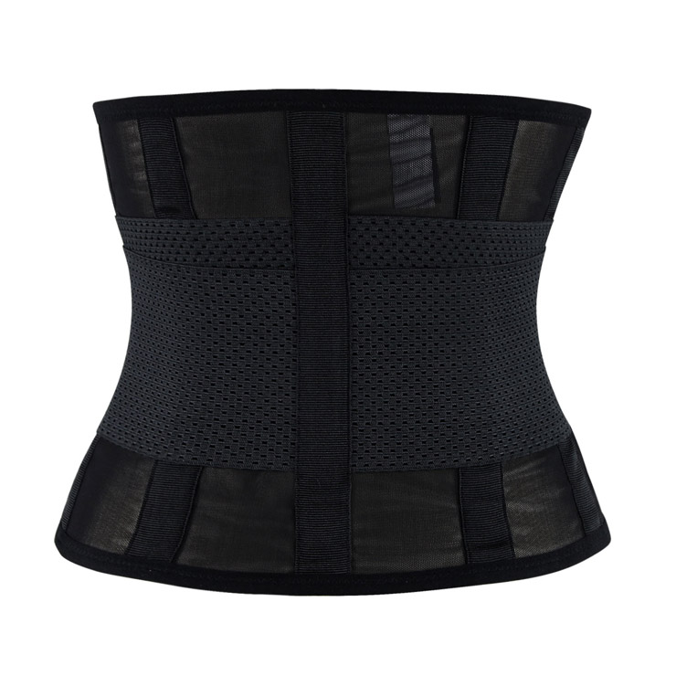 Waist Gym Trainer Corset, Waist Trainer Cincher Belt, Slimmer Body Shaper Belt, Cheap Sport Gym Waist Cincher Belt, Acrylic Bones Corset Belt, #N11020