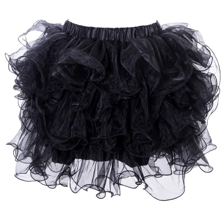 Black mini Skirt HG4316