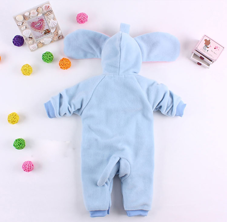 Halloween animal Costume Baby, Elephant Climbing Clothes Baby, Baby Elephant Romper, #N5851