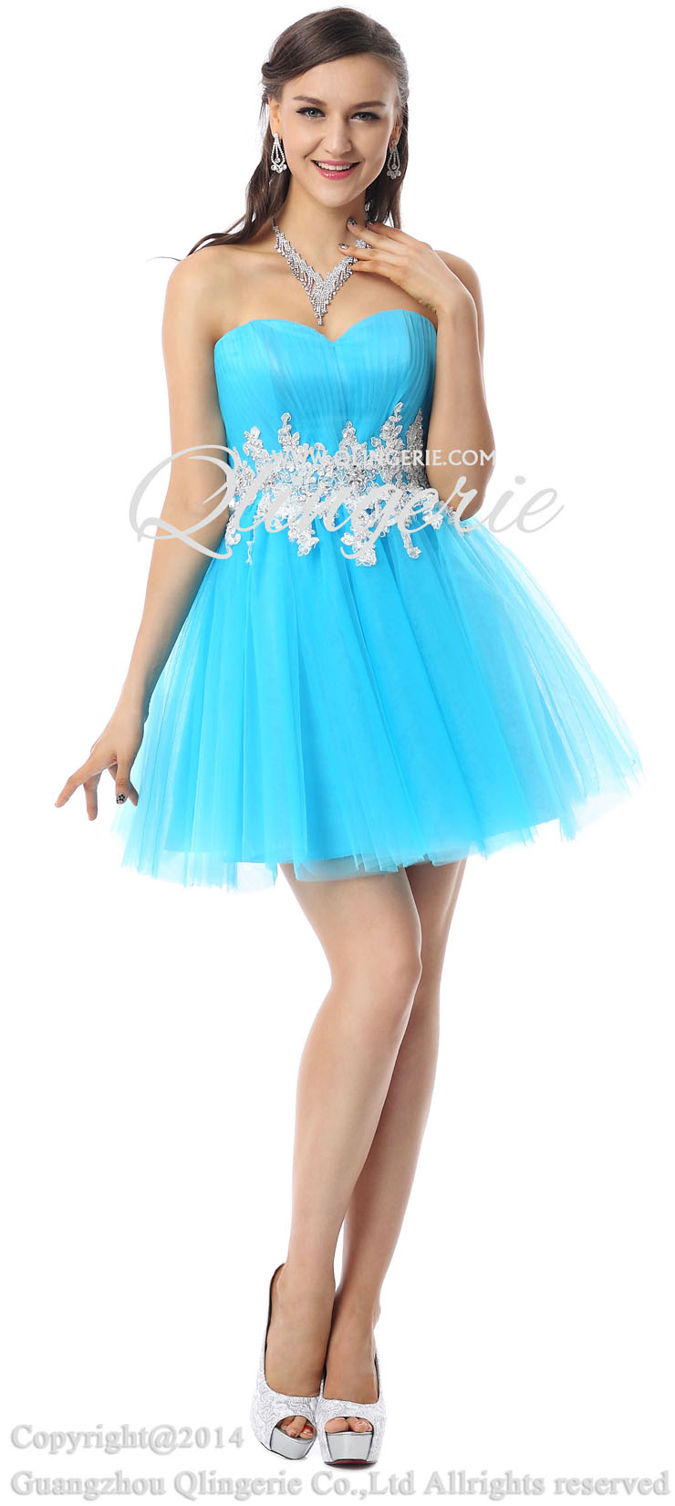 Sale a line sweet 16 dresses hot selling sweetheart dresses y30060
