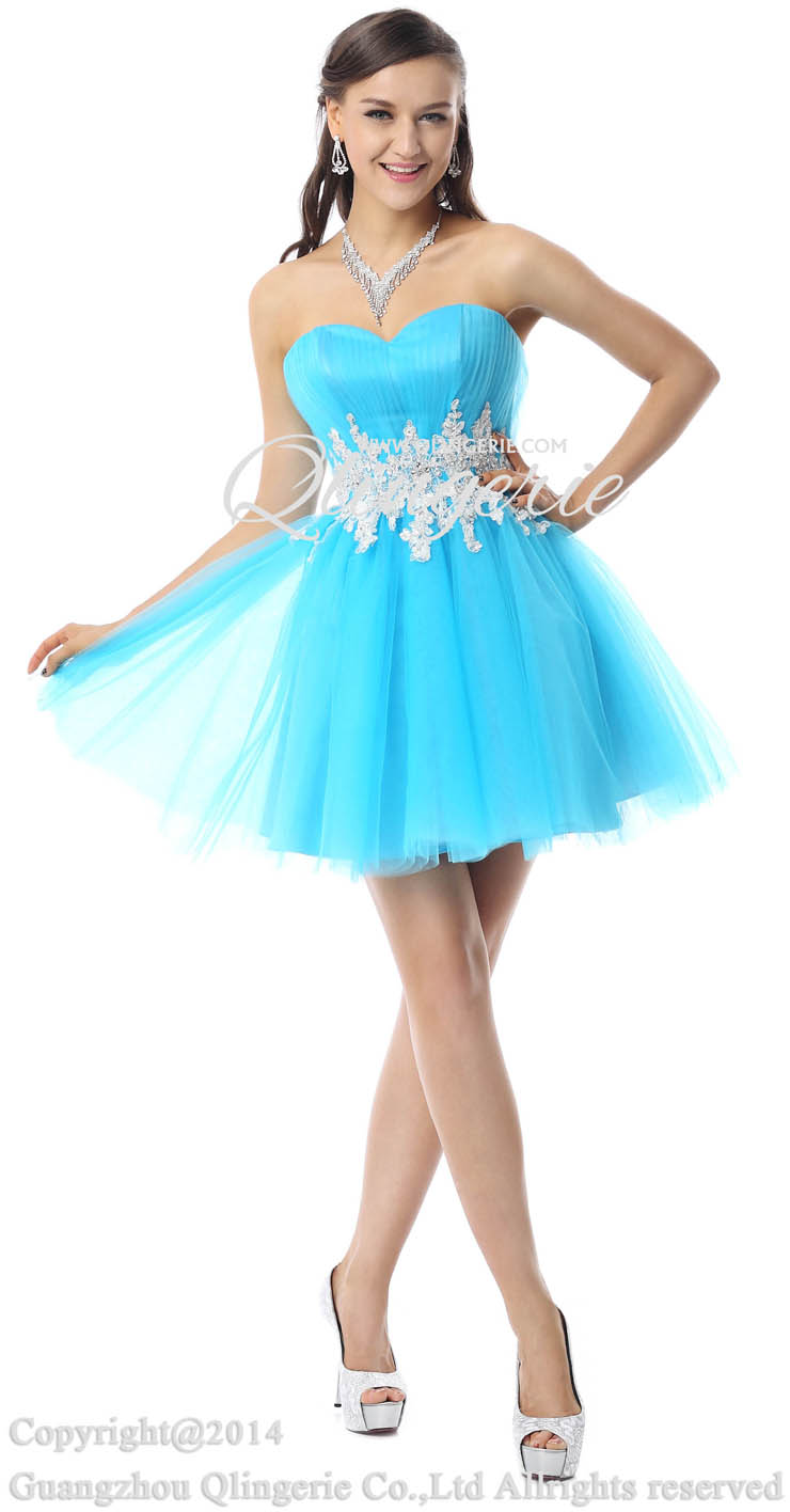 Pretty blue dress cheap prom dresses homecoming dresses under 300 on