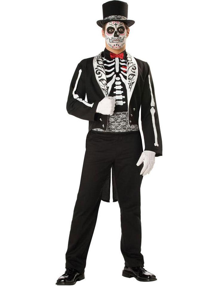 boneyard skeleton groom costume n9131