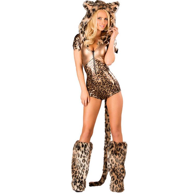 Bronze Leopard Costume N9133