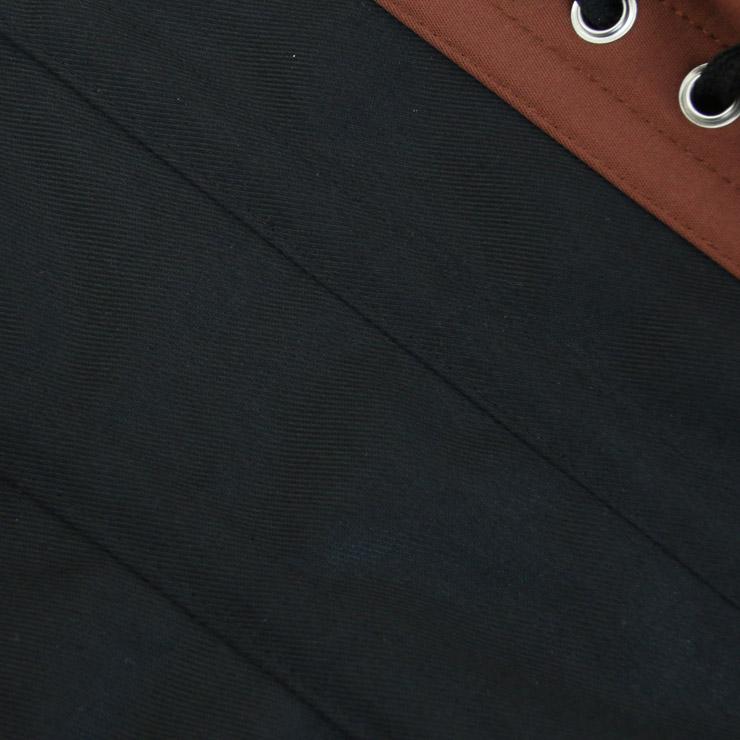 Embroidery Underbust Corset, Steel Bone Waist Training Corset, Steel Boned Cotton Underbust Corset, #N12594