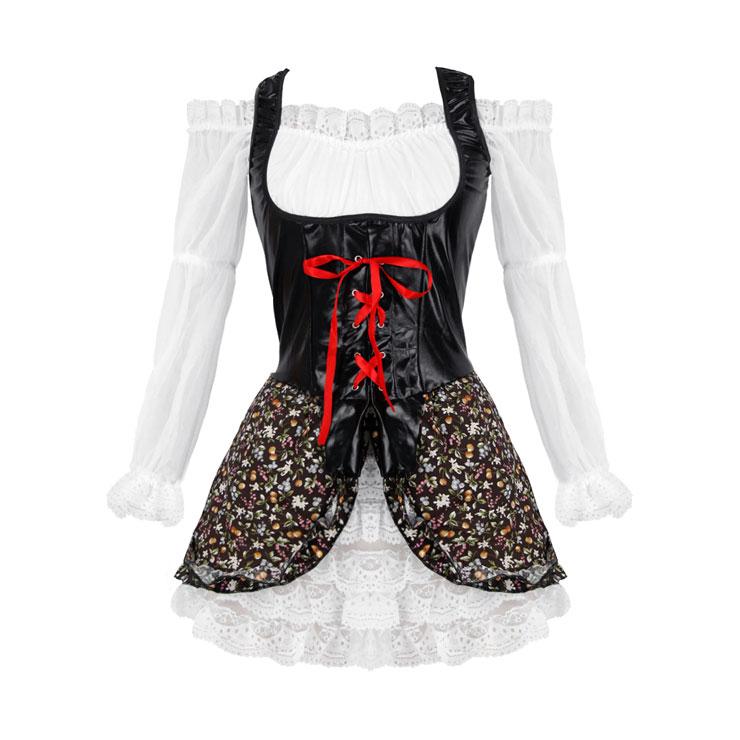 Buccaneer Babe Costume, Buccaneer Girl Costume, Buccaneer Pirate Costume, #P2416