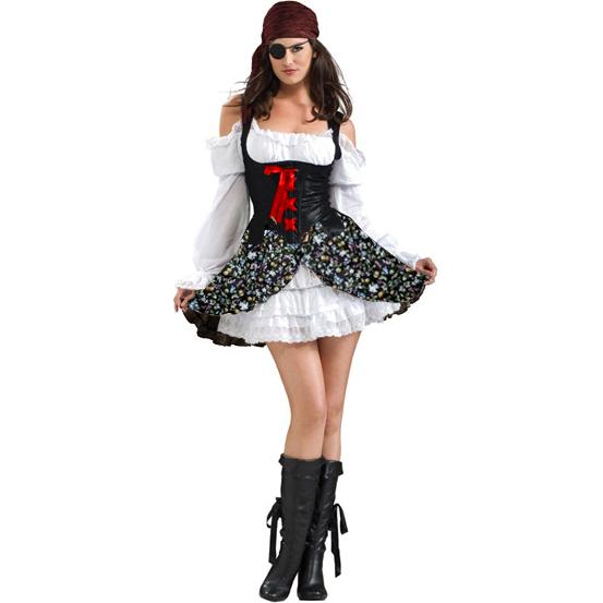 Buccaneer Babe Costume P2416