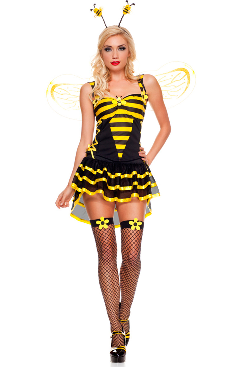 o Burlesque Bee Costume N4584 8 9 324 Women Sexy Swimsuit A large number of cheap sales of swimwear size M L ...