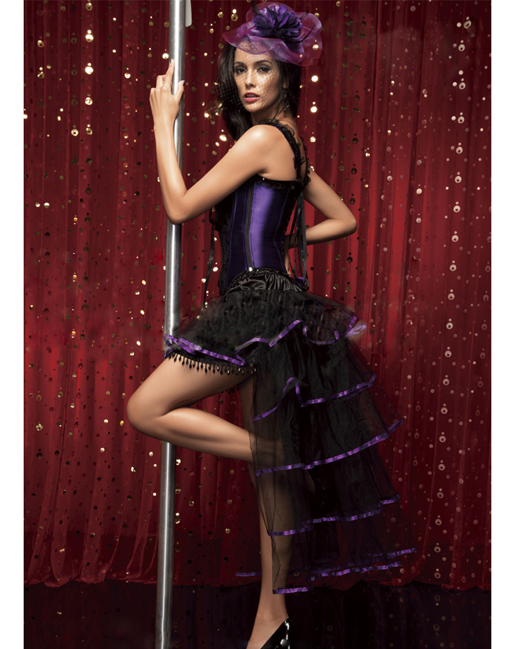 Burlesque Queen Costume N4708