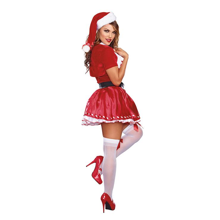 Candy Cane Cutie Costume Costume, Mrs Santa Clause Costume, Miss Santa Costume, Xmas Costume, #XT12251