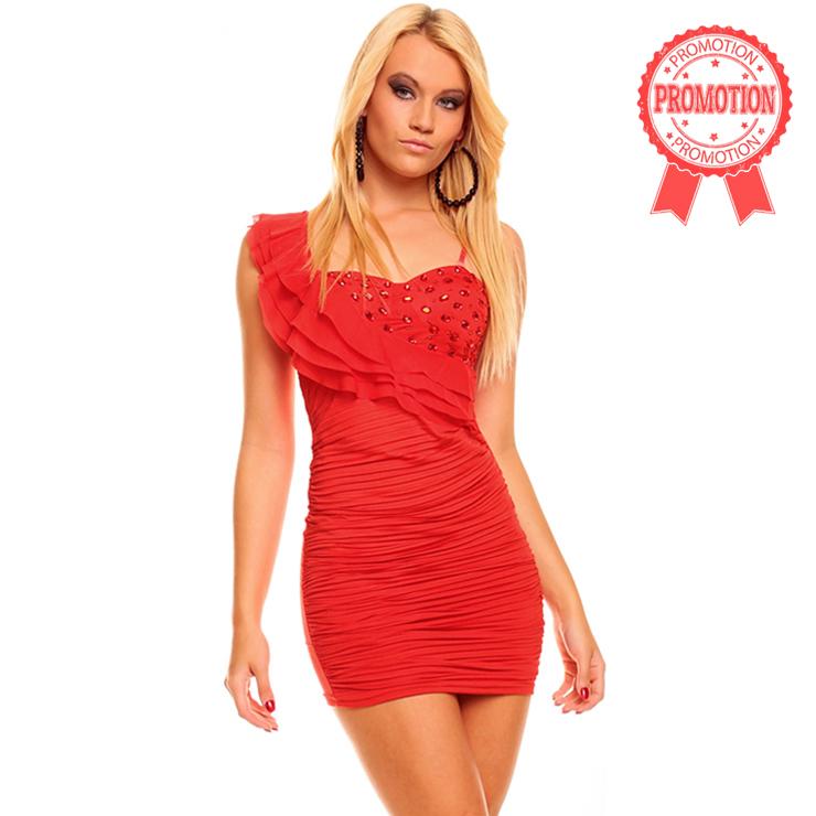 Charlotte Fiesta Red Dress N6768
