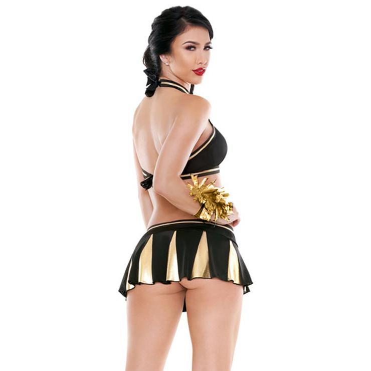 Sideline Spirit Costume, Sexy Cheerleader Costume, High School Cheerleader Costume, #N12903