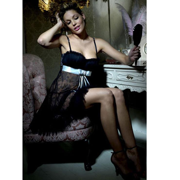 Chiffon Lace sleepwear N2345