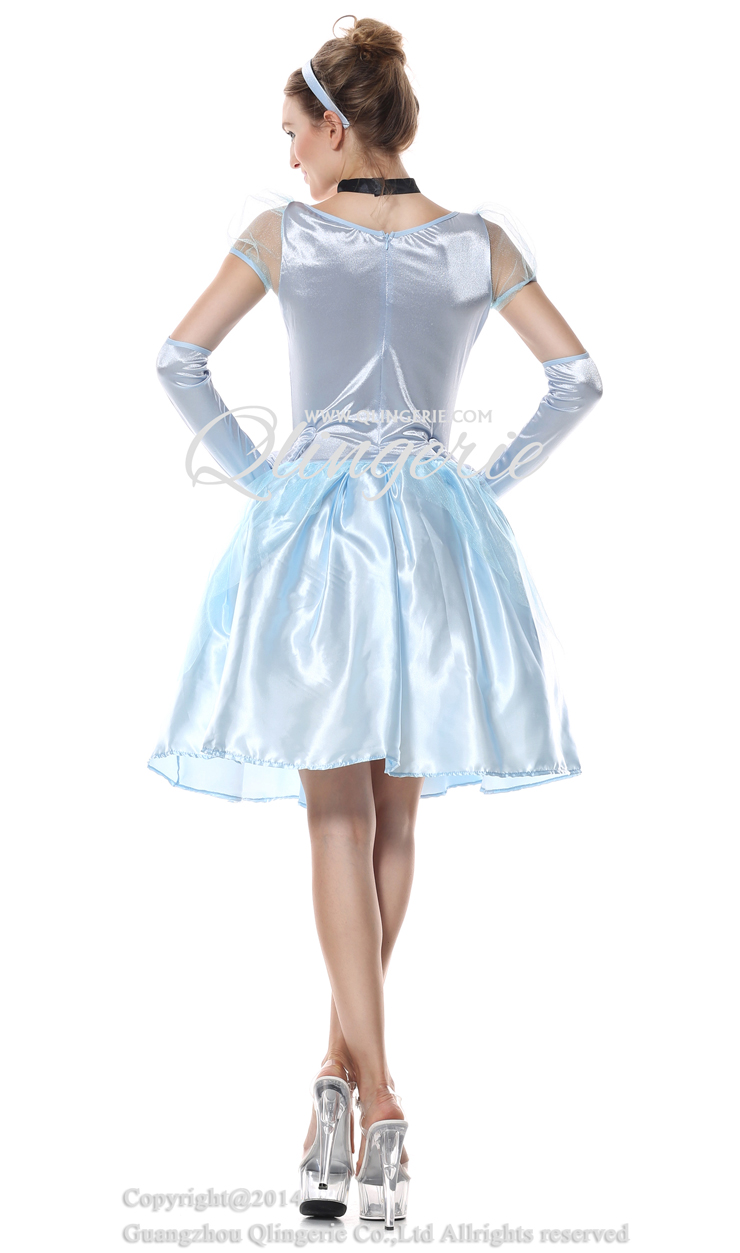 Storybook Beauty Costume, Adult Cinderella Costume,Disney Cinderella Costume, #N6561