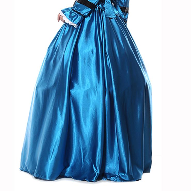 Palace Style Skirt,Gloss Maxi Skirt, High Waist Maxi Skirt, #N9304