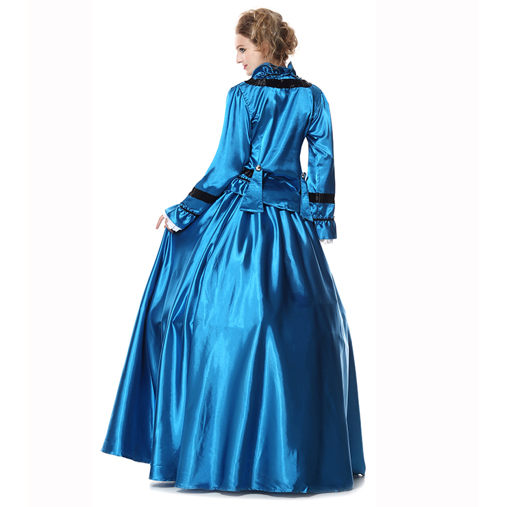 Civil War Victorian Satin Ball Costumes, Brand New Civil War Satin Princess Costumes, Brand New Civil War Satin Princess Costumes, #N9304