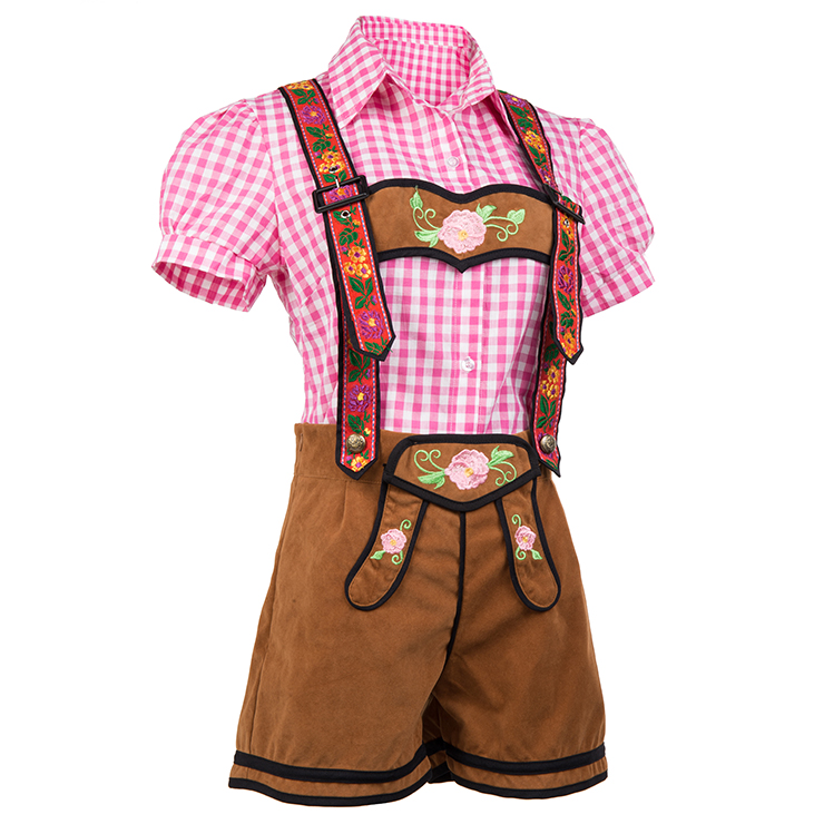 Classical Beer Girl Oktoberfest Costume, Adult Germany Beer Girl Costume, Bavarian Oktoberfest Costume for Women, Bavarian Beer Girl Adult Costume, Beer Girl Maid Role Play Costume, Adult Bar Waitress Cosplay Costume, #N17126