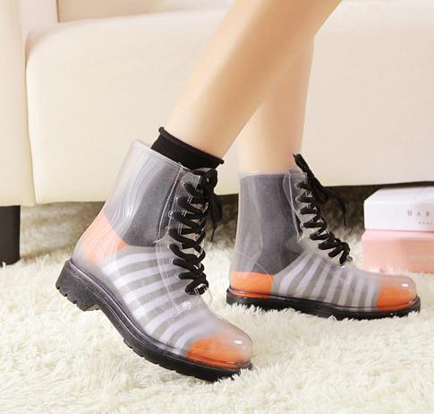 Transparent Rain Boots - Cr Boot