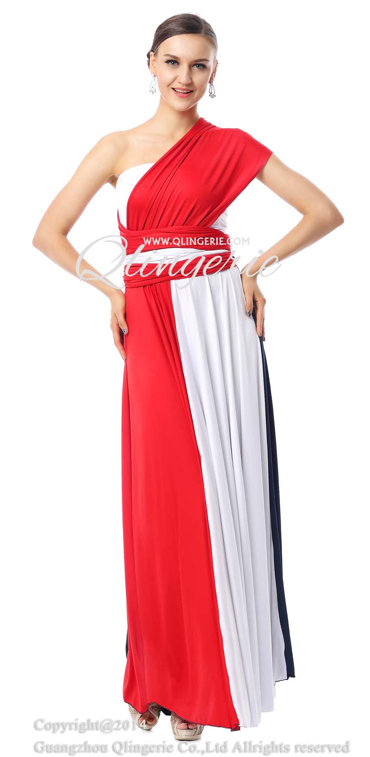 Multicolor Dresses, Cheap Evening Dresses, Hot Sale Prom Dresses, Discount Dresses, Unique Evening Dresses 2015, #F30004