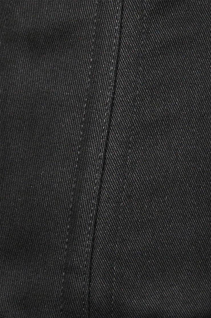 Cotton Double Boned Underbust Corset, Black 26 Steel Bones Corset, Hourglass Torso Shaper Corset, #N9893