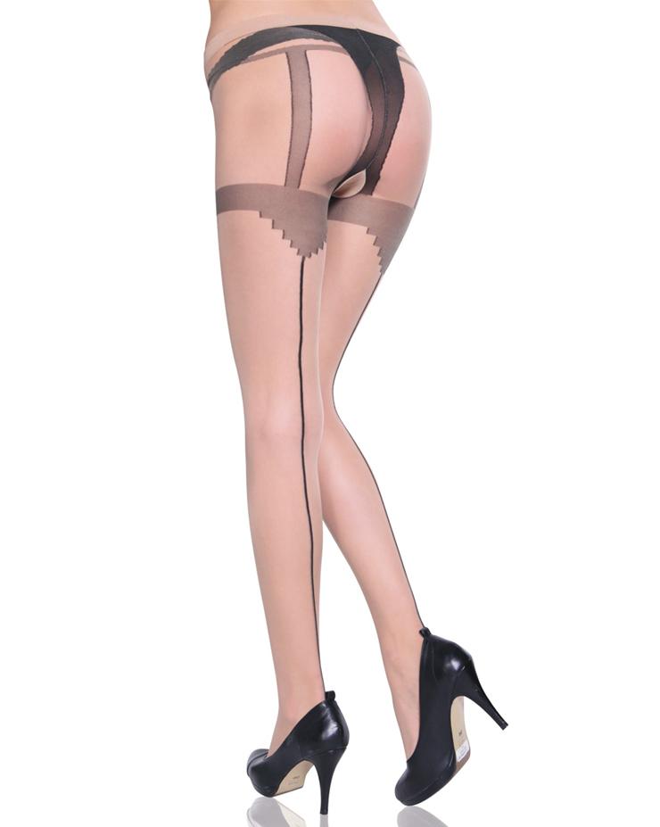 Crotchless Pantyhose HG1952