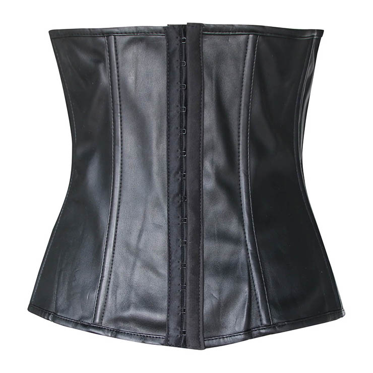 underwire bustier, Corsets, Cupless leather corset, #N2144