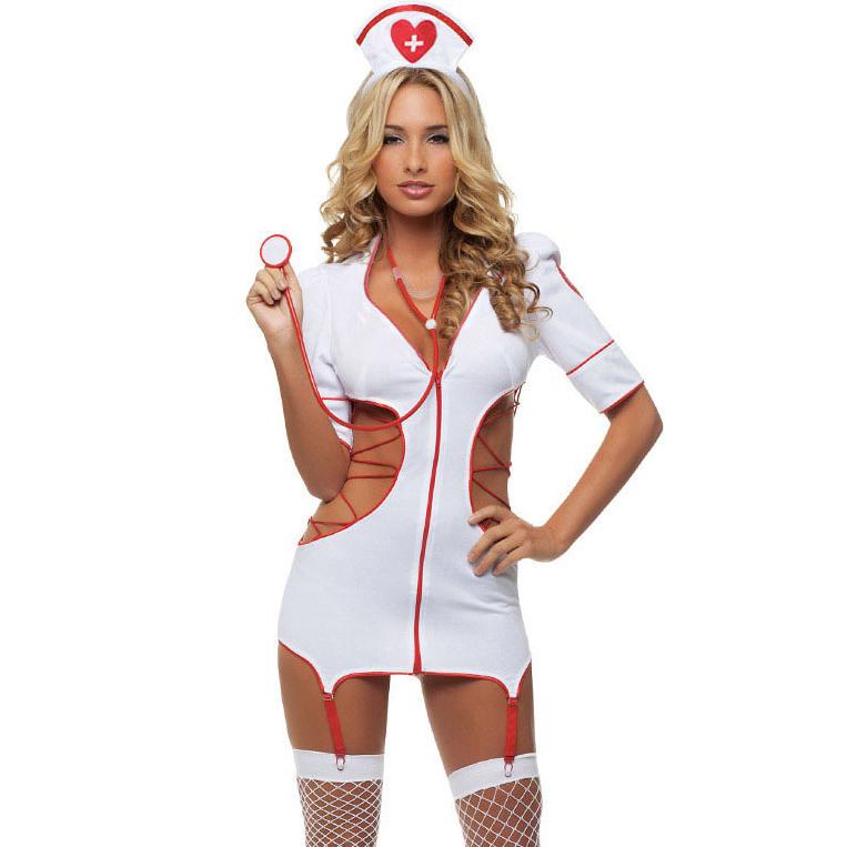 Cut Out Nurse Costume N6600